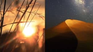 sunrise and nighttime, unsplash.com