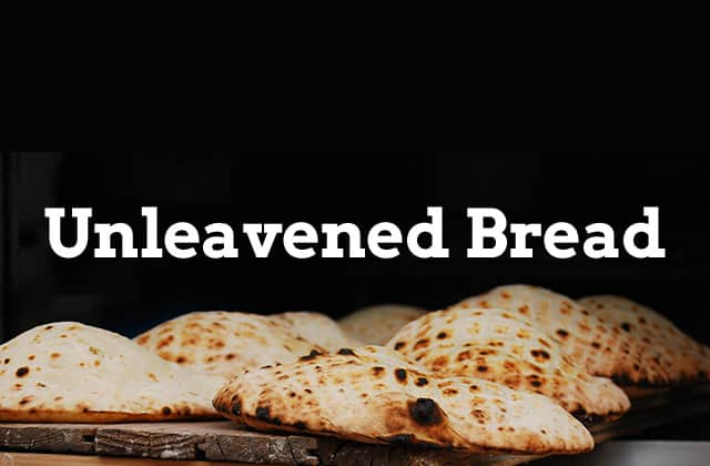 feast of unleavened bread banner