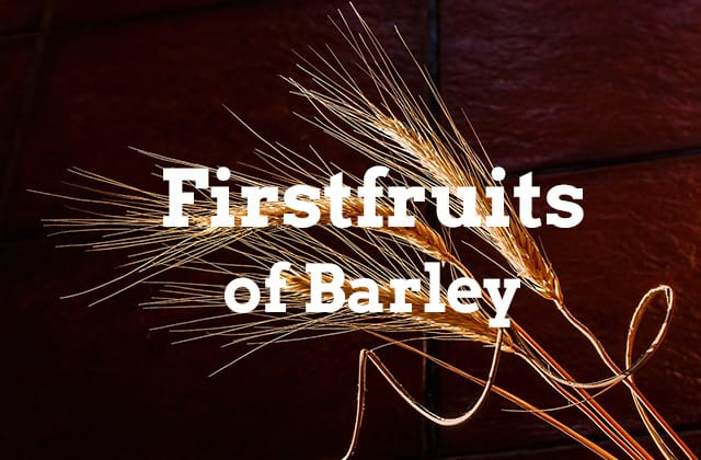 firstfruits of barley banner